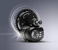 250W, E-SPIN TS1 keskiömoottorisarja, momentintunnistus